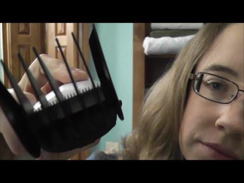 Binaural/3D Haircutting Role Play - Soft Spoken ASMR