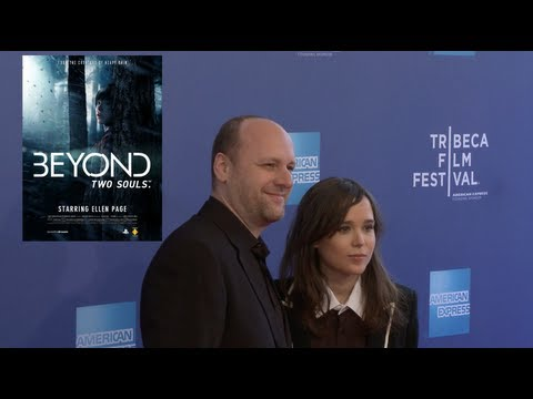 Ellen Page & David Cage for BEYOND: TWO SOULS @ Tribeca Film Festival