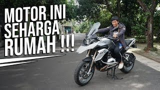 Motor Doang 800 Juta, BMW R 1200 GS Punya Om Mobi