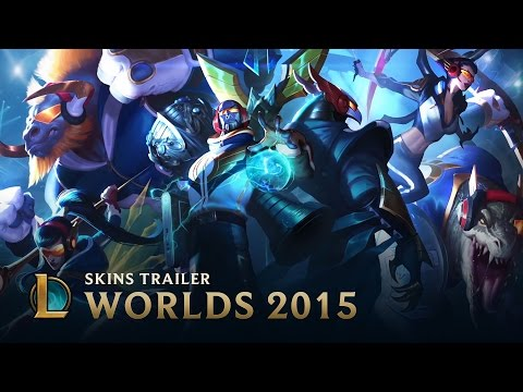 2015 World Championship SKT T1 Skins - League Of Legends