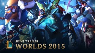 SKT T1: World Championship 2015 Skins | Skins Trailer - League of Legends