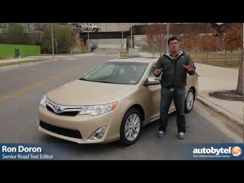 2012 Toyota Camry Hybrid Test Drive & Car Review