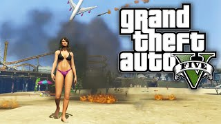 GTA 5 MODS - INDESTRUCTABLE BEACH BABE! (GTA V PC Mods)