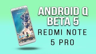 Download Android Q for Redmi Note 5 Pro | Android Q NEW GESTURES | Hindi