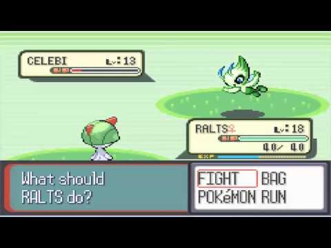 Pokemon Ruby - The Secret of Route 117 - Celebi