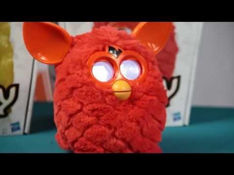 Prezentacja Furbiego / Review Furby: Sprite - Phoneix - Furby Hot - Furby Red / Furby Czerwony