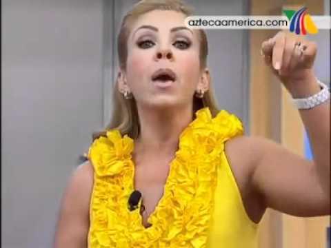 Rocio Sanchez Azuara pone en su lugar a Laura Bozzo - EN VIVO en Cosas De La Vida-.flv