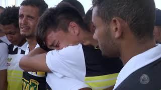 Tragédia CT do Flamengo: comoção marca sepultamento do jogador Áthila Paixão - Jornal do Estado