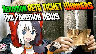 Nekomon BETA TICKET Winners, Pikachu Detective, Plushies - CakEdit News