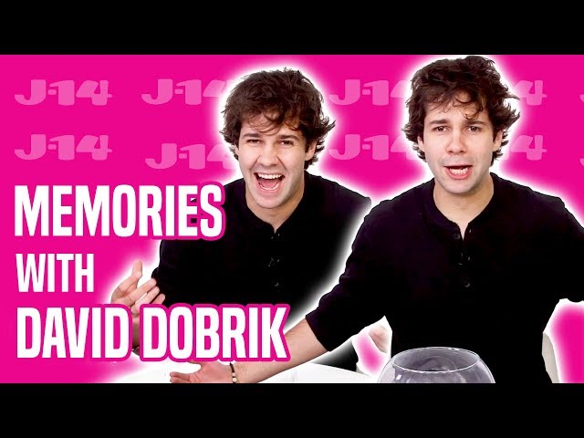 David Dobrik Talks Dolan Twins, Kylie Jenner, and More | Memory Game thumbnail