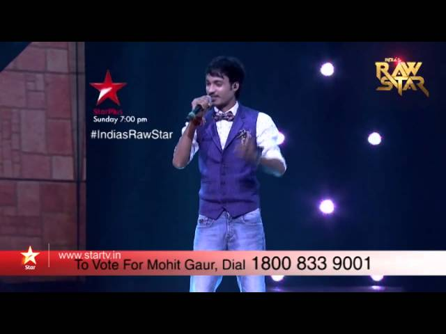 India's Raw Star Episode 8 - Vote for Mohit