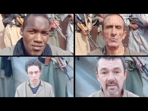 Four French hostages released in Niger