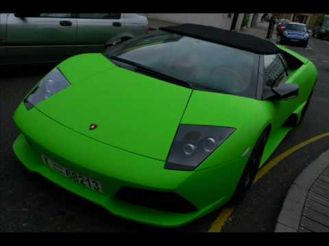 Rare Matte Green Lamborghini LP640 Roadster-London Supercars