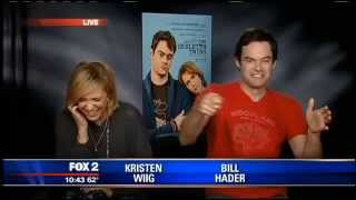 Kristen Wiig and Bill Hader on their new movie,