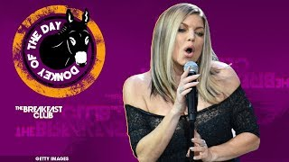 Fergie Botches The National Anthem At NBA All-Star Game