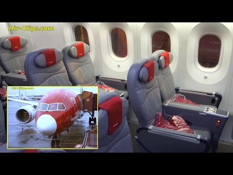 Norwegian Boeing 787-8 Dreamliner Premium Class Stockholm-Lauderdale [AirClips full flight series]