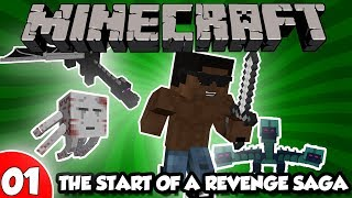 Greatest Warrior In Minecraft 1 - THE START OF A REVENGE SAGA (Hardcore Modded Survival)