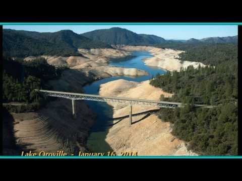 Shocking Before and After Photos of California Mega Drought!