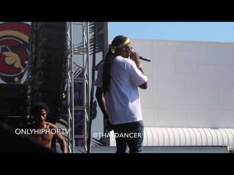 2Chainz live at Rolling Loud Festival in Miami