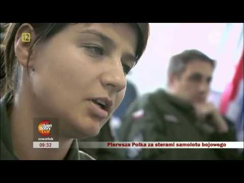 Kobiety w Siłach Powietrznych. Ppor. Katarzyna Tomiak pilot MiG-29.flv