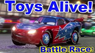 Cars 2: The video game ☆ Daredevil Lightning McQueen ☆ Battle Race on Ginza Sprint