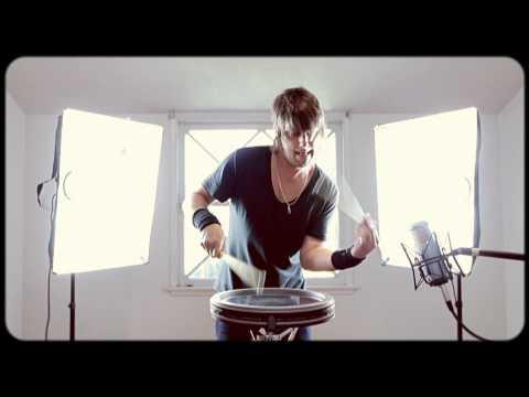 Jason Sutter RUDIMENTAL snare drum solo Hands of doom