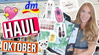 DM HAUL Oktober 2018 | XXL LIVE SHOPPING: Neue Marke 183 Days 😱, Essence Neuheiten, Maybelline