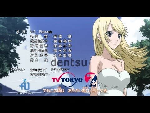 Fairy Tail Ending 15 2014 Breathe - Natsu And Lucy Together video