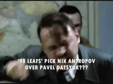 What If Hitler Was A Toronto Maple Leafs' Fan???  His reaction.