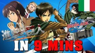 L'Attacco Dei Giganti IN 9 MINUTI - Gigguk ITA - Orion