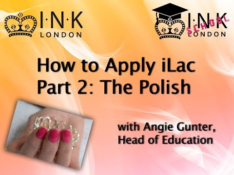 iLac gel polish application - Part 2: The Polish