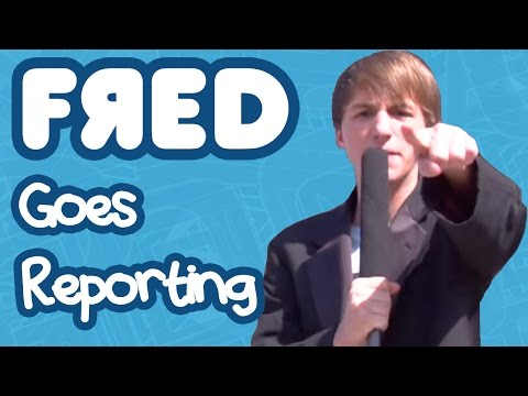 Fred Goes Reporting video