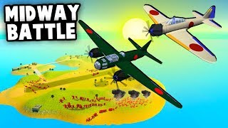 Battle of Midway but can JAPAN Win!? (Ravenfield Best Mods Alternate History)