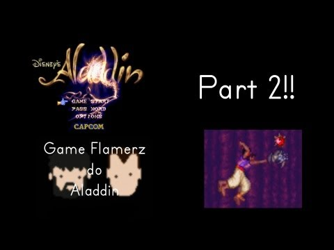 Game Flamerz Do Aladdin (SNES) (PART 2)