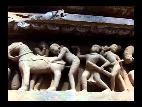 Explicit tantric sex carvings in India