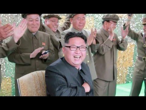 North Korea celebrates successful missile test