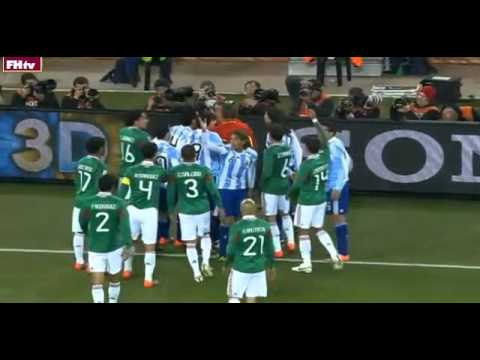 2010 World Cup's Most Shocking Moments #10 - Argentina Cheating