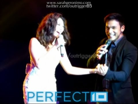 Sarah Geronimo & Mark Bautista Duet - Bruno Mars Medley [perfect 10 Cebu] (07dec13) video