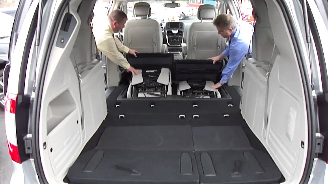 2011 Stow N Go Seating Chrysler Town Amp Country Youtube