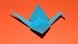 How To Make An Origami Crane