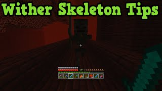 Minecraft Xbox 360 + PS3: Find Wither Skeletons & Get MORE Wither Skulls