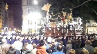 Cristo Jesús de Azotes y Columna, Fusionadas Málaga 2013 Semana Santa