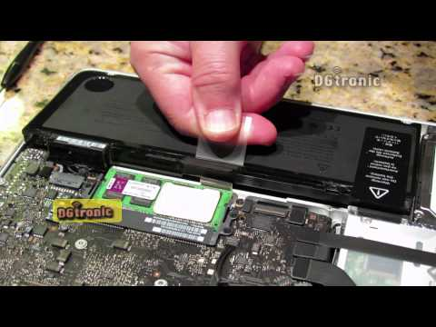How to replace the MacBook Pro integrated battery