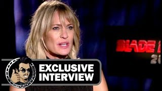 Robin Wright BLADE RUNNER 2049 Exclusive Interview (JoBlo)