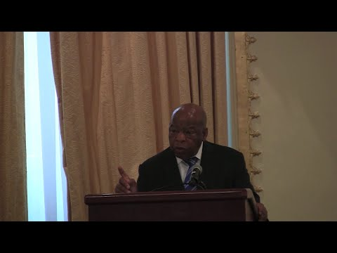 Rep. John Lewis, D-Ga., on comprehensive immigration reform