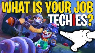 What Is Your Job Techies? - DotA 2 Funny Moments
