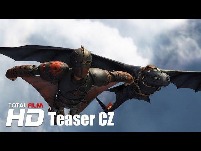 Jak vycvičit draka 2 (2014) CZ HD dabing teaser