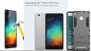 Xiaomi Redmi 3S + чехол + стекло