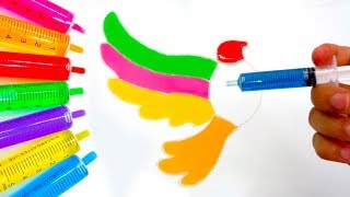 Chị Google Dạy Bé Màu Sắc Tiếng Anh Bằng Tô Màu Đoán Hình Trò Chơi Trẻ Em #40