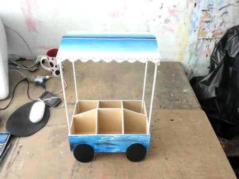 Carritos dulceros youtube for Como hacer un kiosco de madera